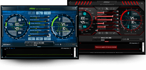 MSI Afterburner для Windows 10